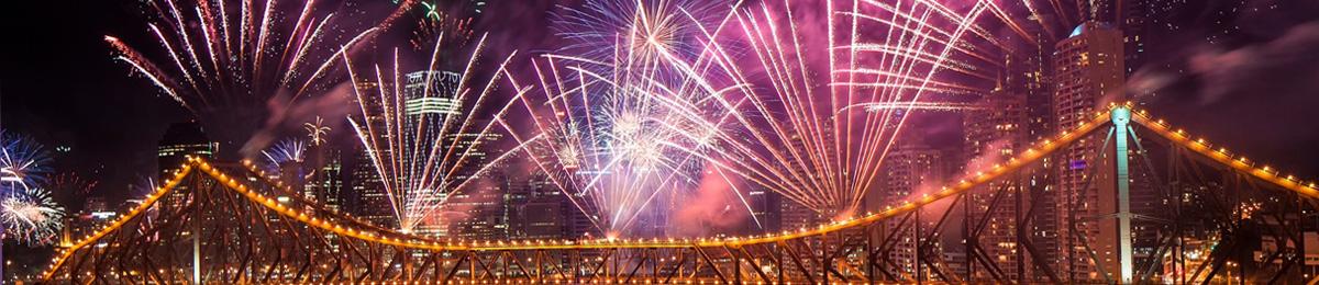 Brisbane Festival - fireworks