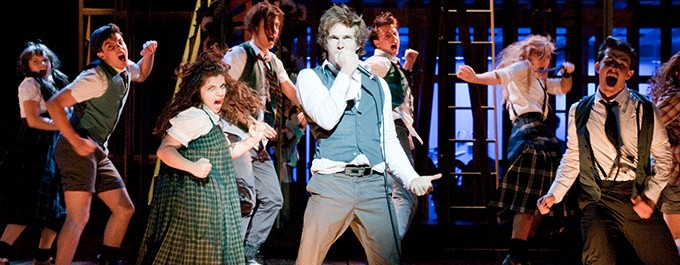 Spring Awakening production